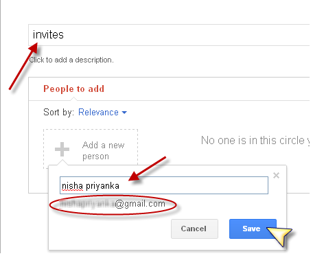 Google Plus Email invites