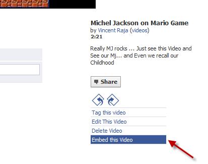 Embed facebook videos