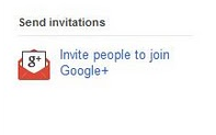 Send invitaions Google Plus