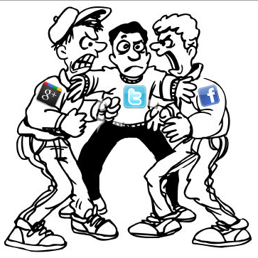 Google Plus and Facebook