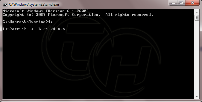 Virus Remover Command Prompt