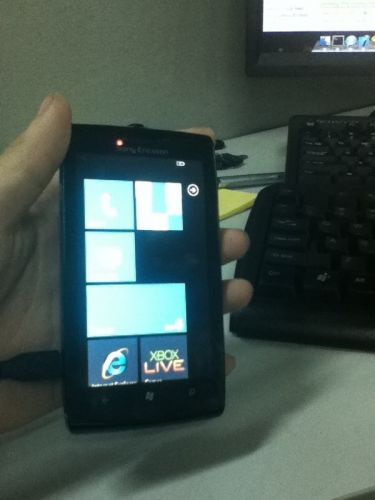 sony ericsson windows phone