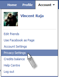 how to remove Facebook apps step 1