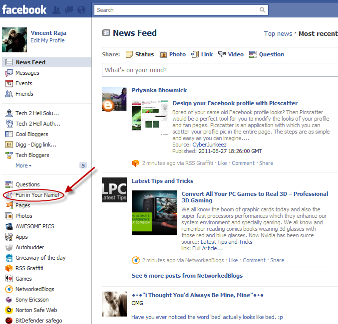 How to remove facebook apps