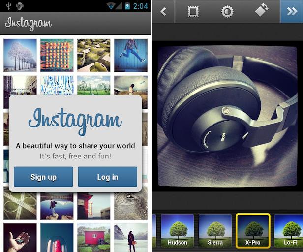 screenshot android instagram